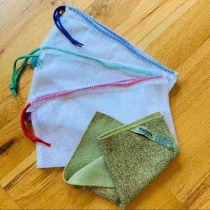 Norwex Produce bags & Veggie and Fruit Scrub Cloth